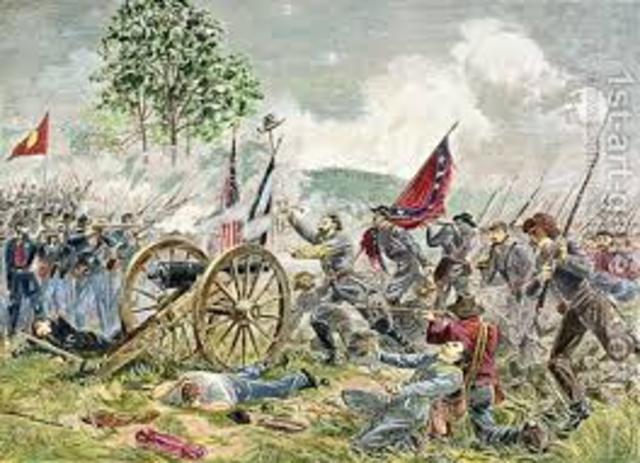 Pickett's Chrage At Gettysburg