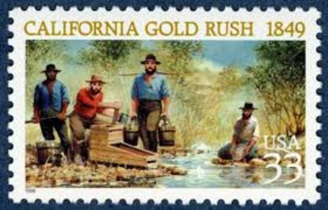 Gold is discovered in the Cherokee Nation triggering Americas first gold rush