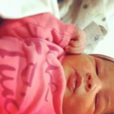 Daughter Elani born XMAS morning