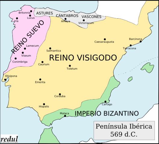 Invadación de los Visigodos Siglo V
