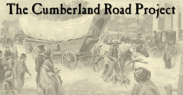 Construction of the Cumberland Road began!