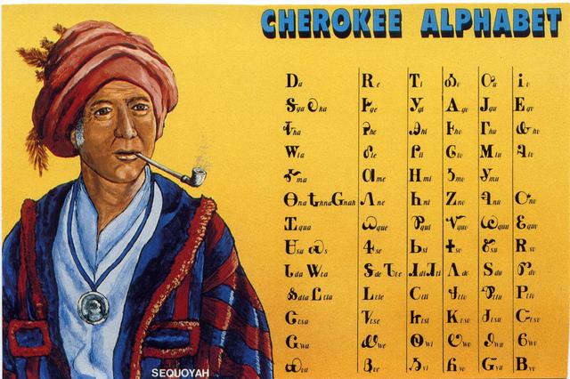 Sequoyah and the Cherokee Syllabary