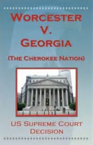 Worchester V Georgia