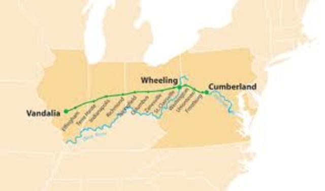 The Cumberland road