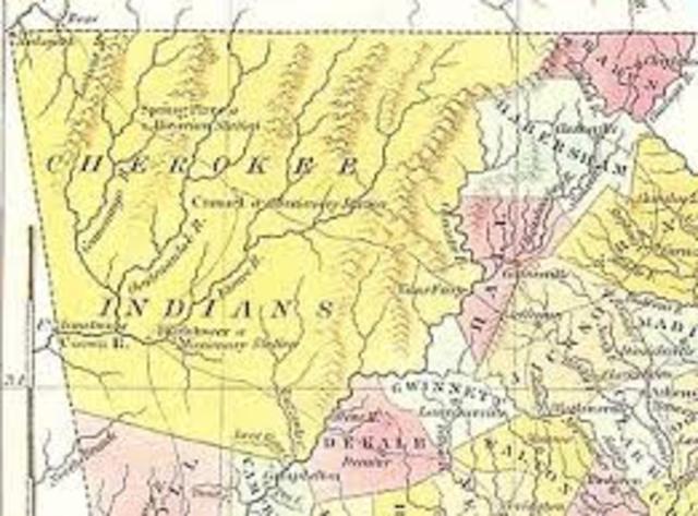 Cherokee Capital of New Echota