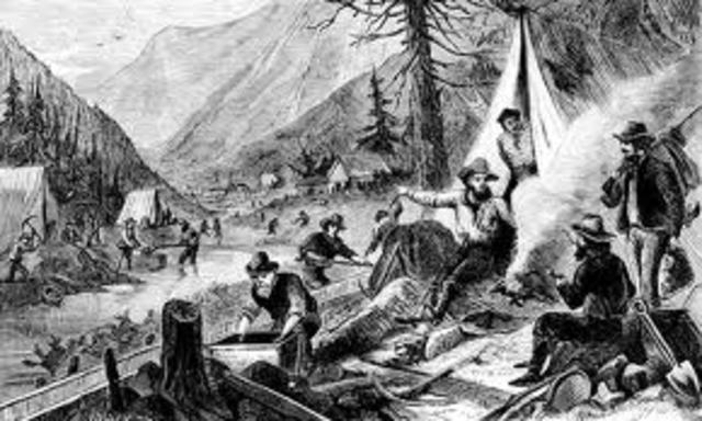 Gold is Discovered in The Chereokee Nation Triggering Americas First Gold Rush