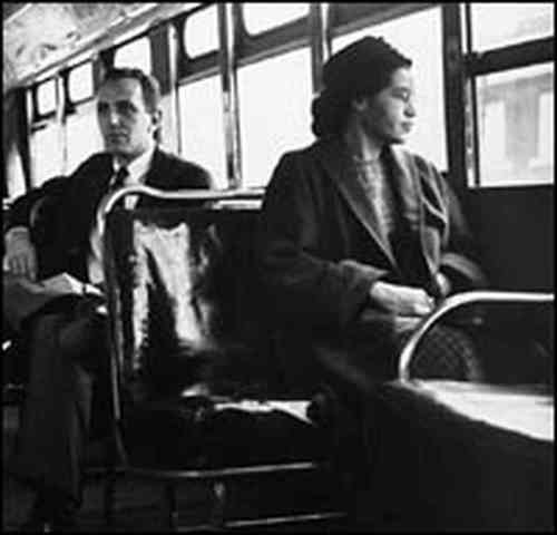 Rosa Parks Makes History