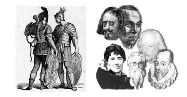 El Latín Clásico y Vulgar 300 a.C