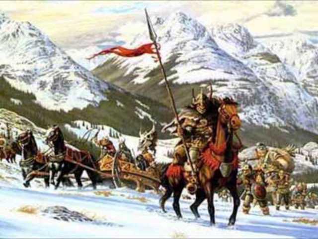 Invasiones Bárbaras 100 a.C