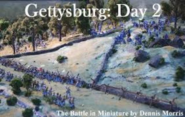 Battle of Gettysburg Day 2