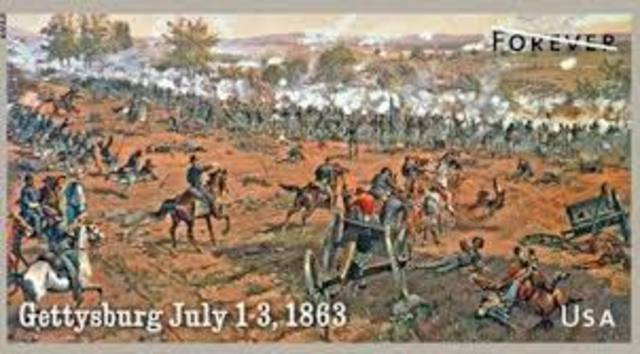 The Battle of Gettysburg Day 3