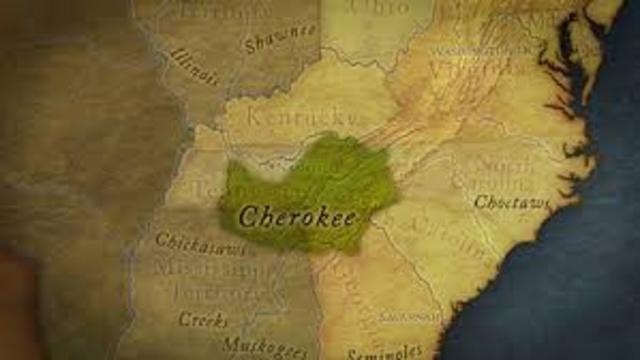 Cherokee Nation vs. Georgia
