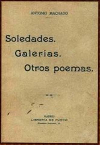 Antonio Machado - primera obra