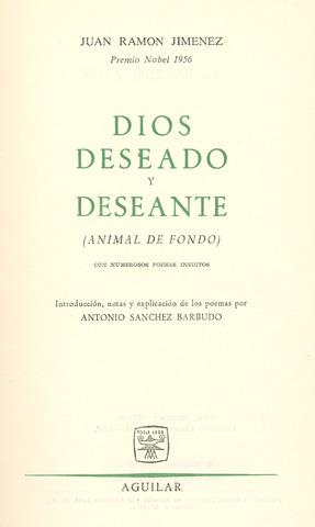 Tercera etapa de Juan Ramón Jiménez