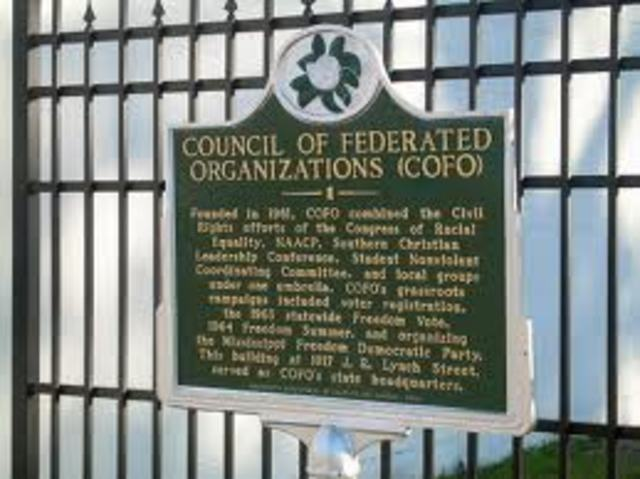 COFO Starts the Freedom Summer