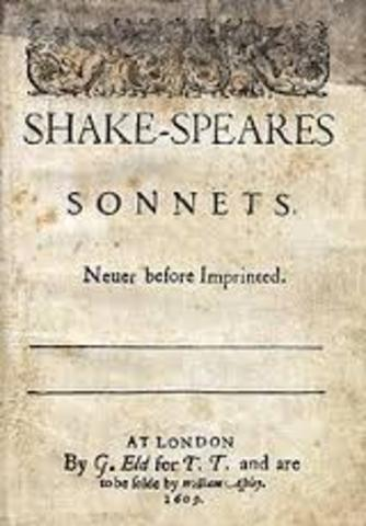 1609 Shakespeares's sonnets are published