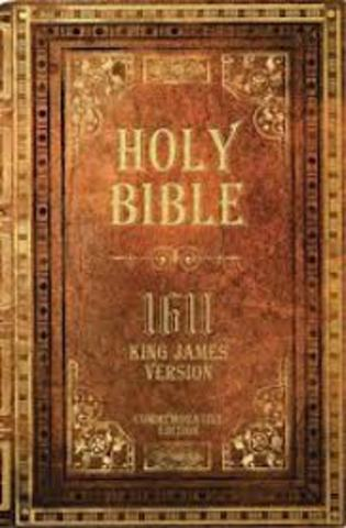 1611 King James Bible is published