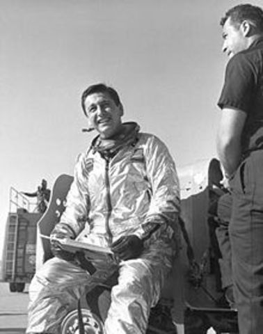 Scott Crossfield passes Mach 2