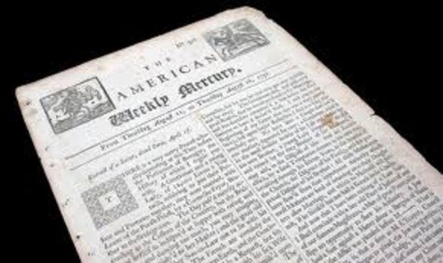 1621 Newspapers are first published in London