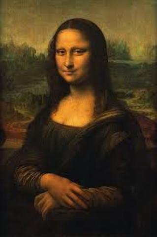 1503 Leonardo da Vinci paints the Mona Lisa