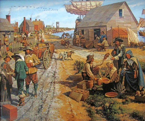 1607 Permanent English settlement in North America is established at Jamestown, Virginia