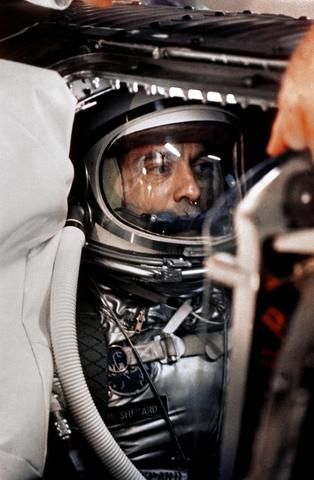 Alan Shepard is the first American in space