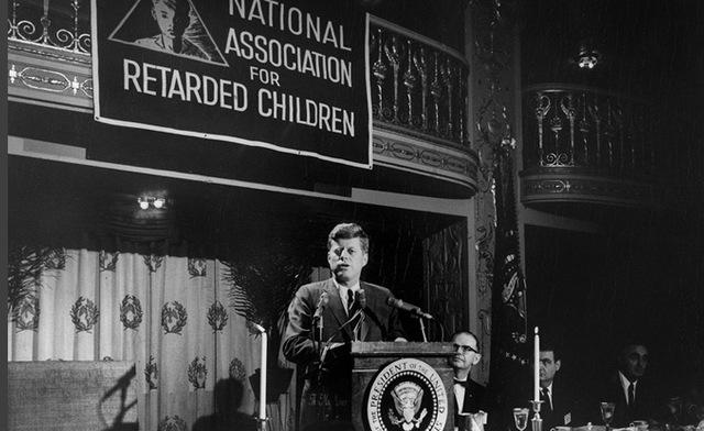 JFK's Panel on Mental Retardation