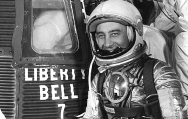 Guss Grissom 2nd American in space