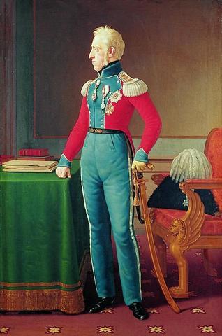Frederik d. 6. fik fyret ministrene