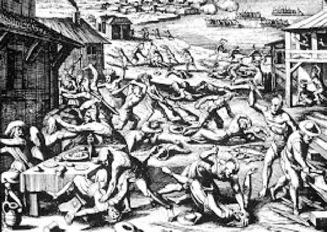 The Jamestown Massacre - Secrets Of The Dead - (part one)