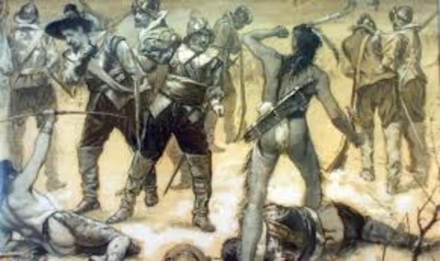 Historiography of the Pequot War