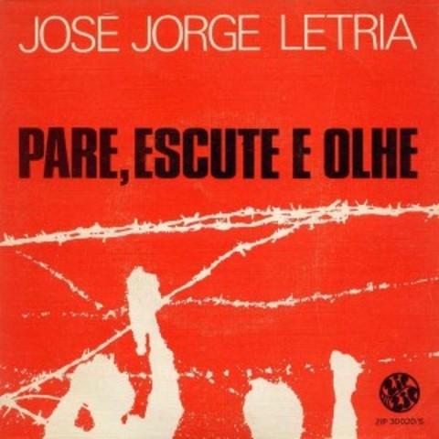 Disco single «Páre, Escute, Olhe»
