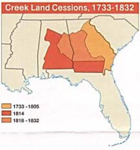 Creek Indians Removal