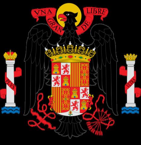 Francisco Franco promulga ante las Cortes españolas las Leyes Fundamentales del Reino.