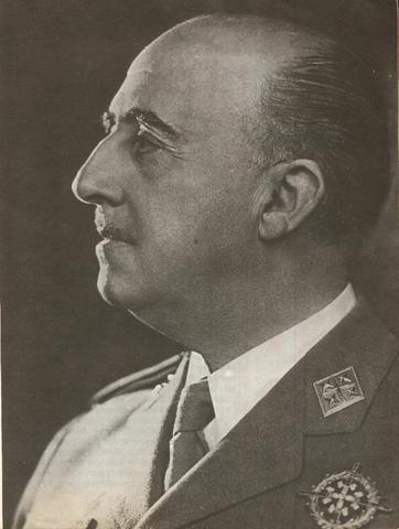Formación del sexto Gobierno nacional de España presidido por el dictador Francisco Franco