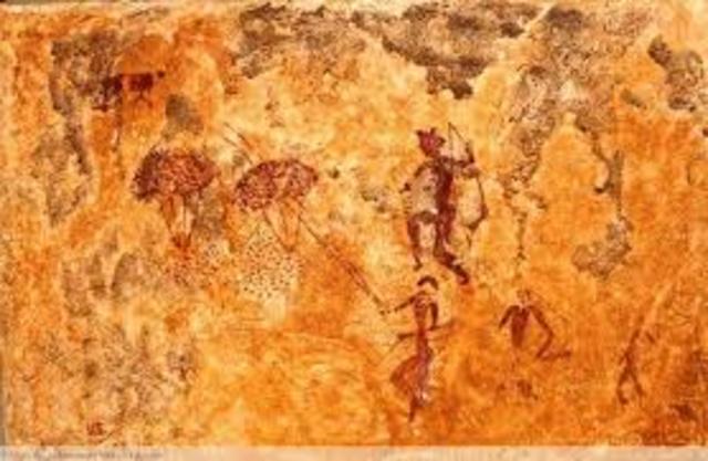 Se descubren las pinturas rupestres de La Sarga
