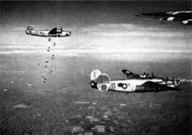 Allies begin Air Raids upon Aucshwitz