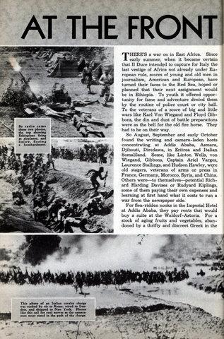Italian invasion of Ethopia