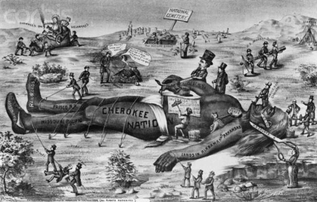 Cherokee v. Georgia
