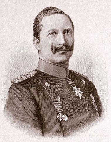 Wilhelm II becomes kaiser