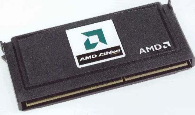 Первый процессор с тактовой частотой Athlon K7