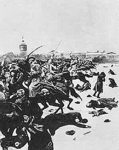"""""""Bloody Sunday Massacre"""""""