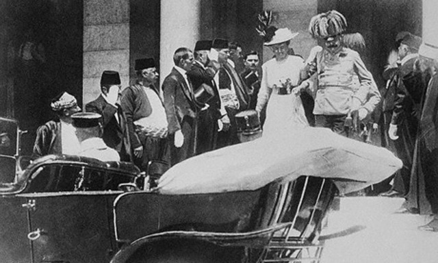 Archduke Franz Ferdinand assassinated in Sarajevo.