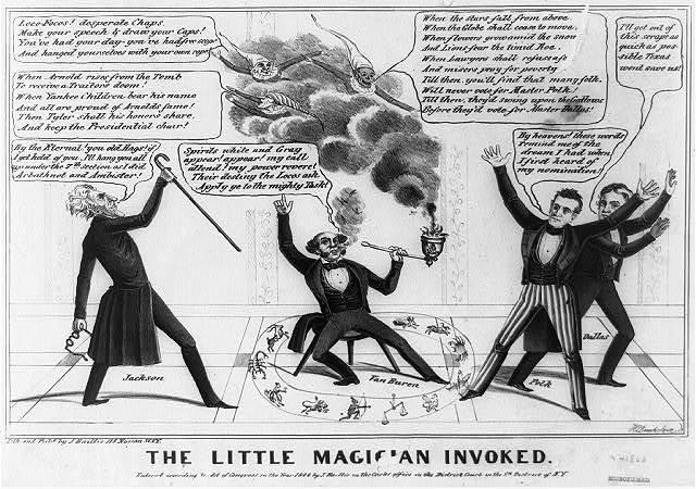 The Election of Martin Van Buren