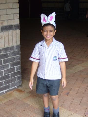 First Bunny Brunch.