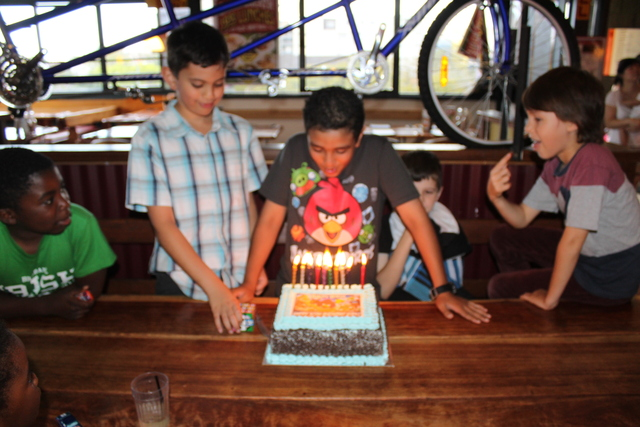 10th Birthday.