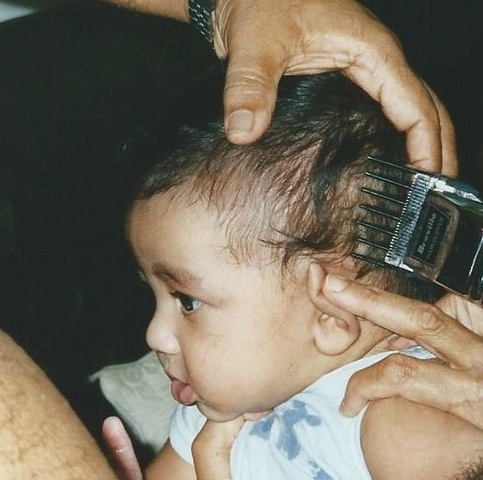 First Haircut.