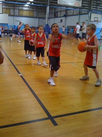 Basketball - Early Days.