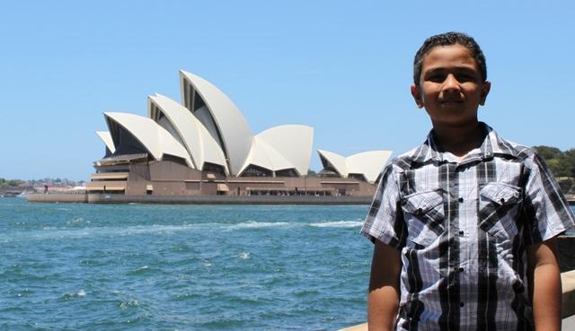 First Trip to Sydney.