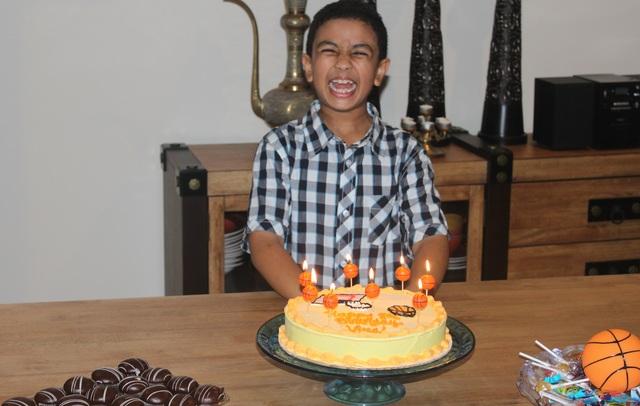 8th Birthday.